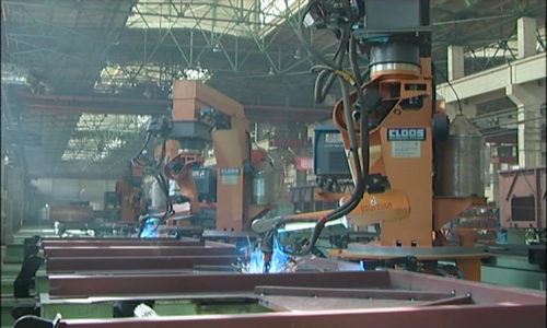 Production Line for Robot welding